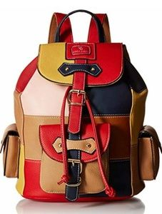 Nwt Color Block Backpack
